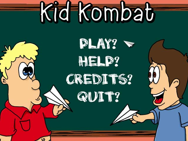 Kid Kombat Screenshot Menu